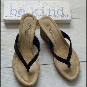 """Size 6, 3"""" sandal"""
